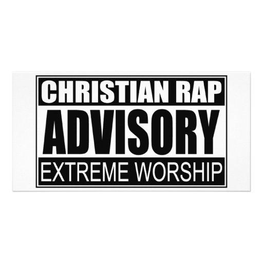Christian Rap Advisory... Photo Card