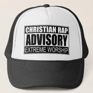 Christian Rap Advisory... Trucker Hat