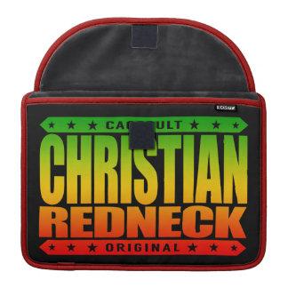 CHRISTIAN REDNECK - God Loves Brave Conservatives Sleeve For MacBook Pro