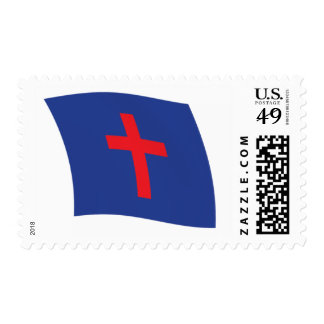 Christian Religion Flag Stamps