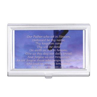 Christian Religion Business Card Holder