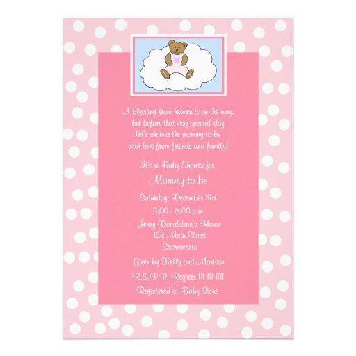 Baby Shower Invitation Wording Christian : Baby Shower Invitations