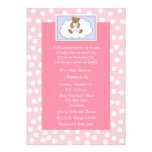 Christian Religious Baby Shower Invitation, Pink Custom Invites