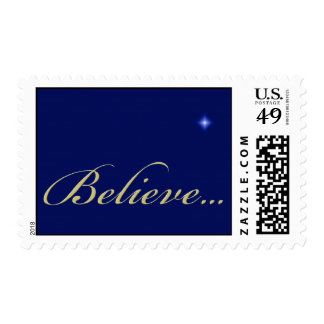 Christian Religious Christmas Postage Stamp