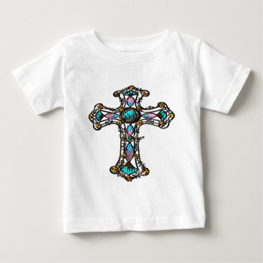 Christian Religious Cross Baby T-Shirt