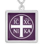 Christian Religious Icon Christogram ICXC NIKA Pendant