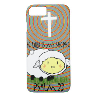 Christian Religious The Lord is my Shepherd iPhone 8/7 Case