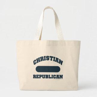 Christian Republican Tote Bags