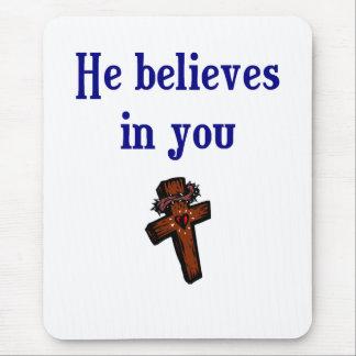 Christian Saying Mouse Pad