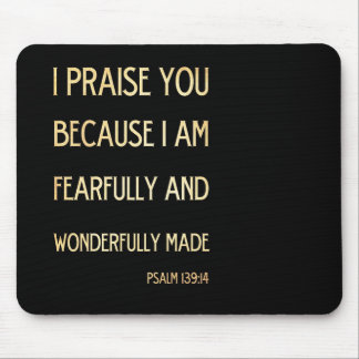 Christian Scriptural Bible Verse - Psalm 134:19 Mouse Pad