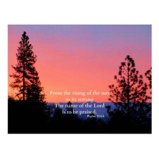 Christian Scripture Bible Verse Creationarts Postcard