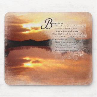 Christian Scripture Bible Verse Gift Sets Psalms 1 Mouse Pad