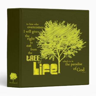Christian Scripture binder: Tree of Life Binder