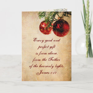 christian scripture customized christmas card - Christmas Card Scripture