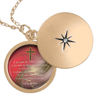 Christian Scripture Protection Locket