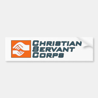Christian Servant Corps Bumper Sticker