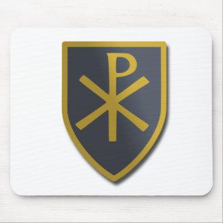 Christian Shield Mouse Pad