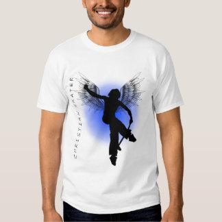 Christian Skater Blue T-shirts