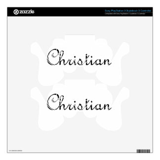 Christian Decal For PS3 Controller