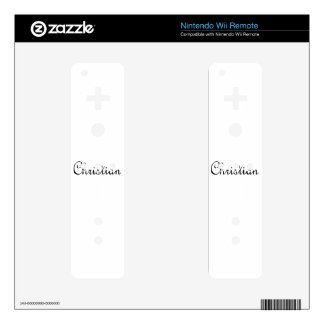 Christian Wii Remote Decal