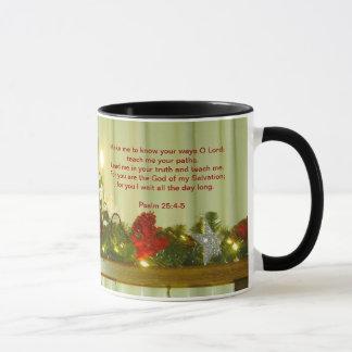 Christian Snowman Mug