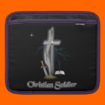 Christian soldier cases iPad sleeve