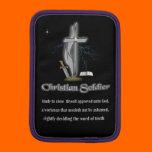 Christian soldier merchandise sleeve for iPad mini