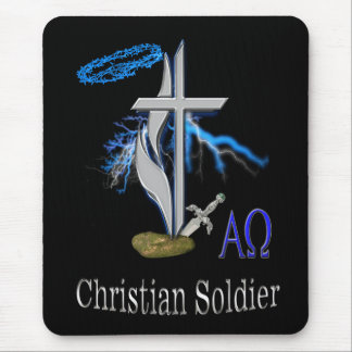 christian soldier mousepad