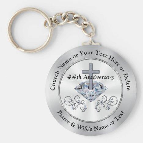 Christian Souvenir Ideas for Church Anniversary Keychain