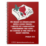 Christian Spiral Note Book