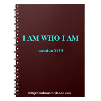 Christian Spiral Note Books
