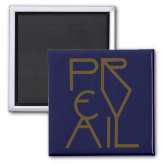 Christian Spiritual Prophetic Warfare PREVAIL Magnet