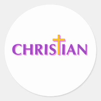 Christian Classic Round Sticker