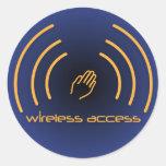 Christian stickers: Wireless Access (prayer)