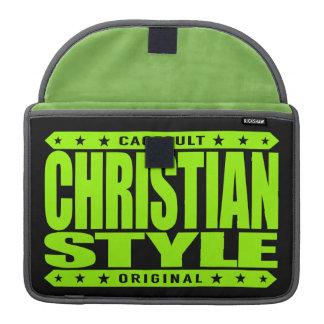 CHRISTIAN STYLE - Virtues of Faith Hope & Charity Sleeve For MacBooks