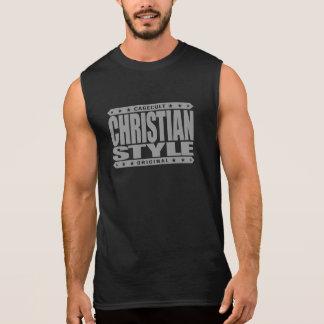 CHRISTIAN STYLE - Virtues of Faith Hope & Charity Sleeveless Shirt