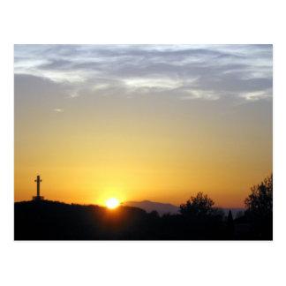 Christian Sunrise Postcard