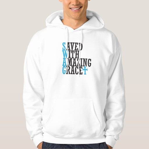 Christian SWAG Cross Hooded Sweatshirt Cool Unique