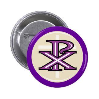 Christian Symbol Button