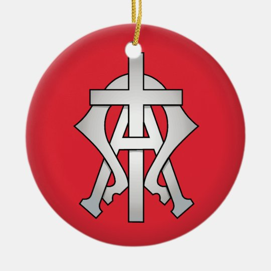 Christian Symbol Christmas Tree Ornament