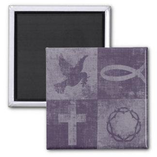 Christian Symbols Magnet