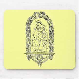 Christian Symbols Mouse Pad