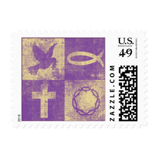 Christian Symbols Postage
