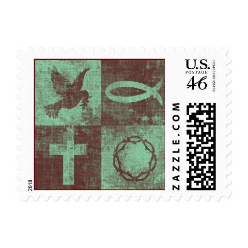 Christian Symbols Stamps
