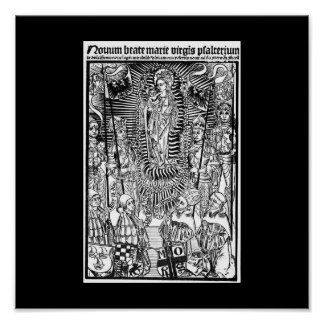 Christian Symbols Poster