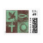 Christian Symbols Stamp
