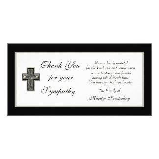 Christian Sympathy Thank You Photo Card