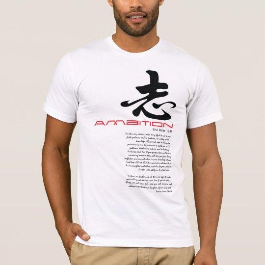 Christian t-shirt: Ambition T-Shirt