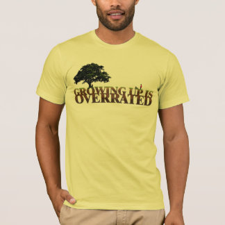 Christian t-shirt - Growing up is Overrated