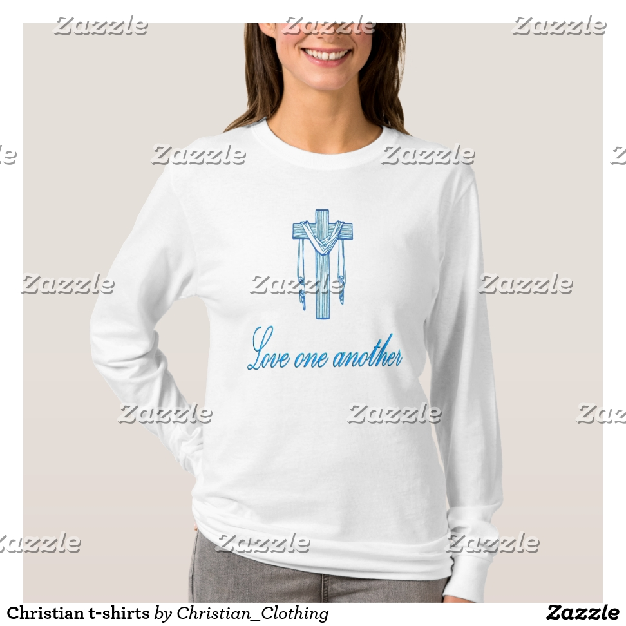 Christian t-shirts - Best Selling Long-Sleeve Street Fashion Shirt Designs